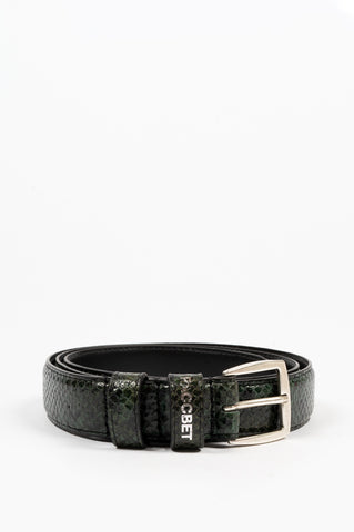 RASSVET 7 LEATHER BELT GREEN