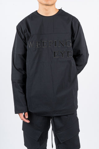 REIGNING CHAMP X JIDE OSIFESO STRETCH NYLON HOCKEY JERSEY BLACK - BLENDS