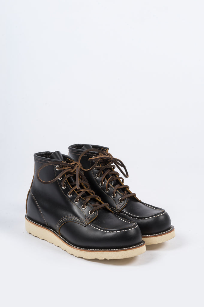 "RED WING 6"" IRISH SETTER CLASSIC MOC BLACK KLONDIKE - BLENDS"