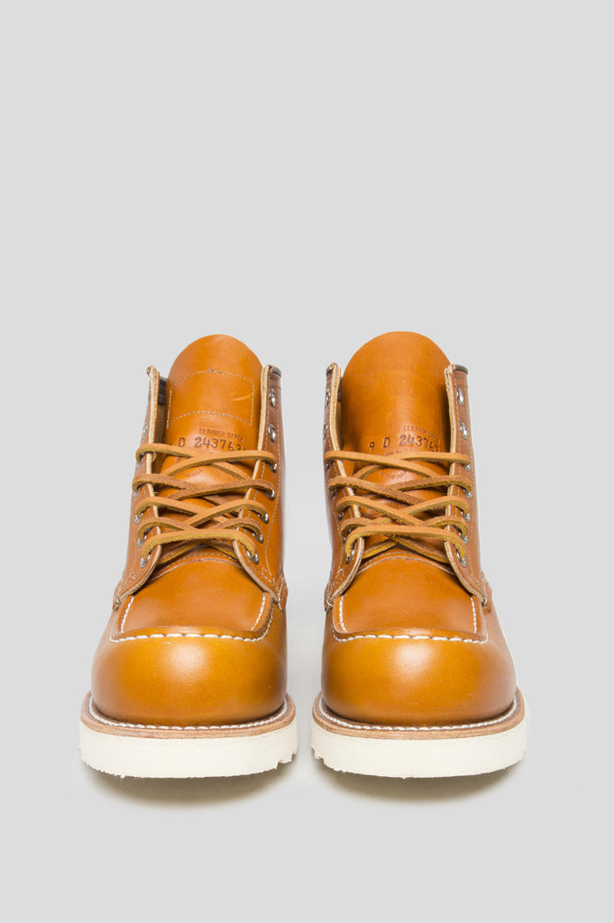 "RED WING 6"" CLASSIC MOC GOLD RUSSET - BLENDS"
