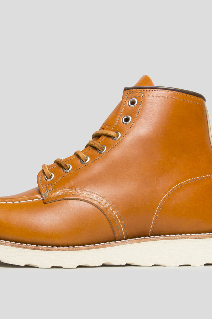 "RED WING 6"" CLASSIC MOC GOLD RUSSET"
