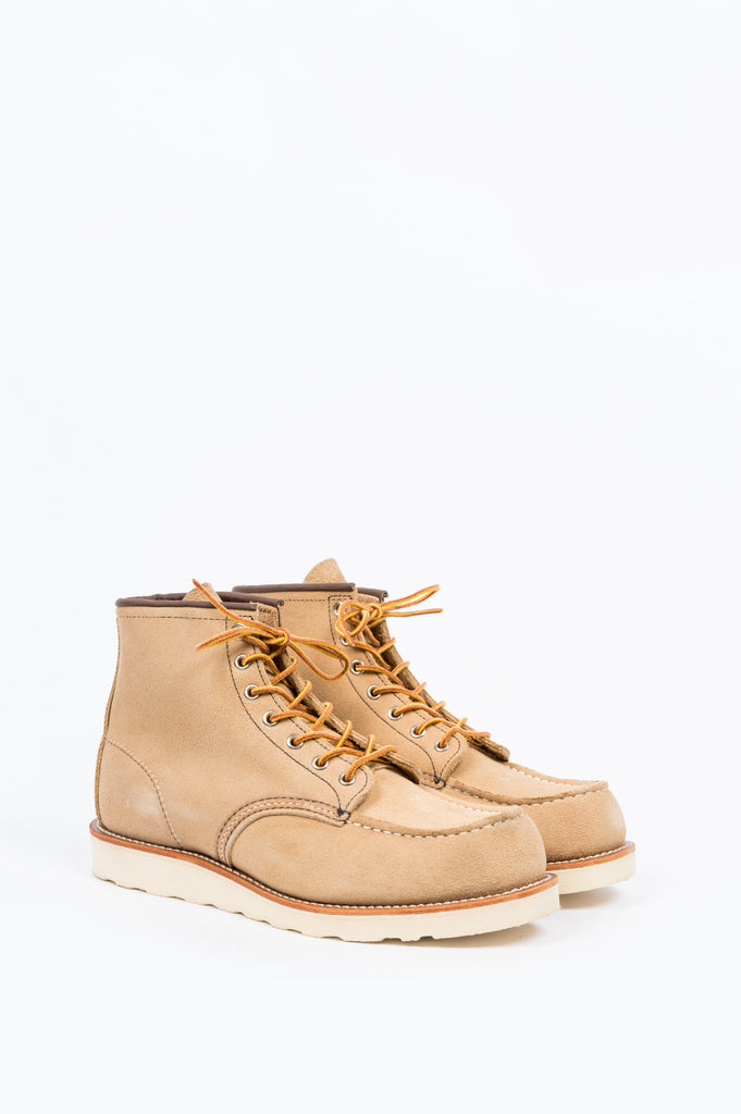 "RED WING 6"" BOOT CLASSIC MOC SAND - BLENDS"