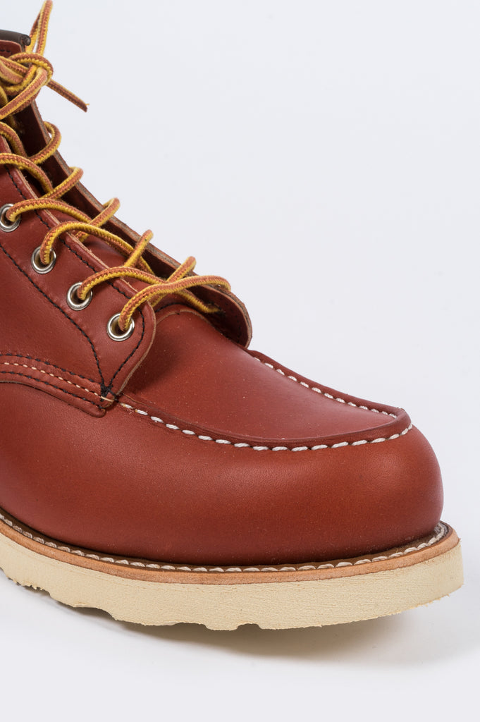 "RED WING 6"" CLASSIC MOC ORO RUSSET - BLENDS"