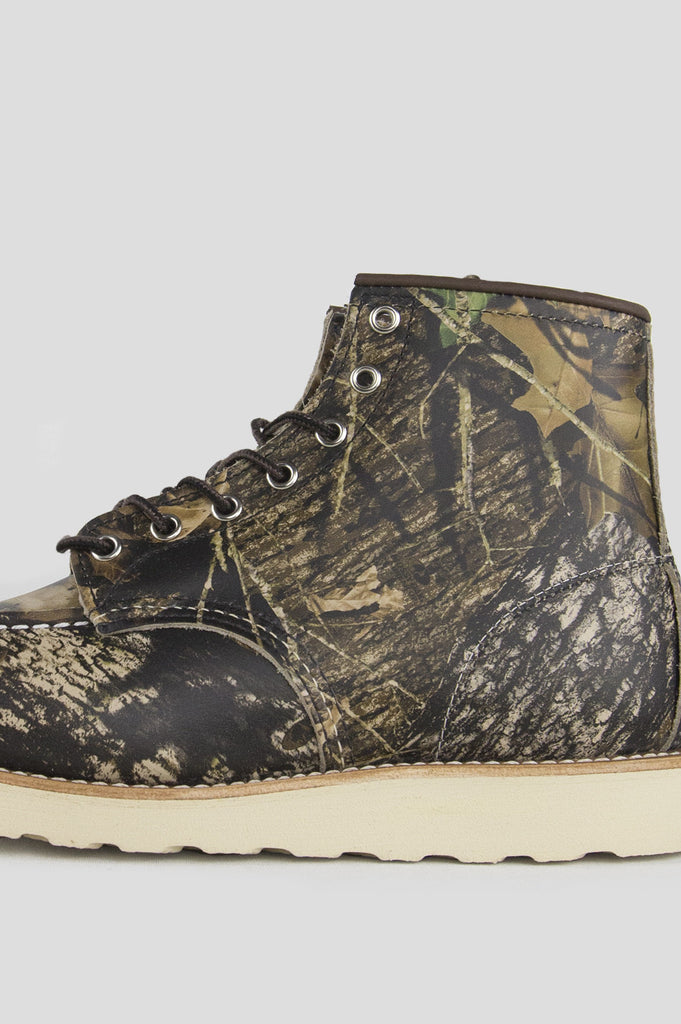 "RED WING 6"" MOC TOE MOSSY OAK CAMO"