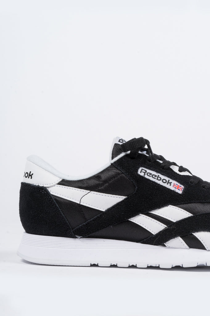 REEBOK CLASSIC NYLON BLACK - BLENDS