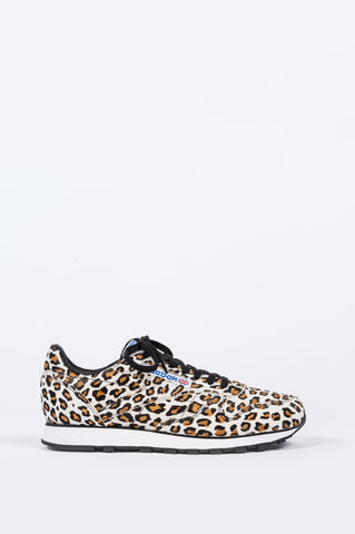 REEBOK X HEADPORTER PLUS CLASSIC LEATHER LEOPARD