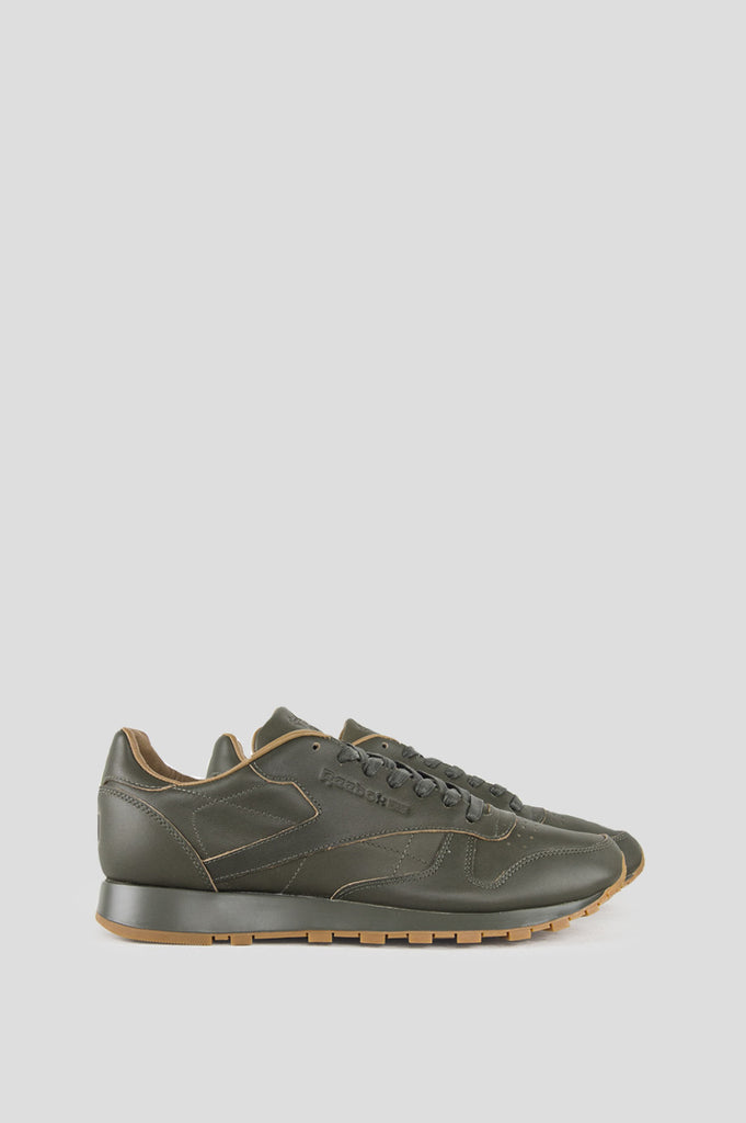 REEBOK X KENDRICK LAMAR CL LEATHER LUX OLIVE NIGHT GUM
