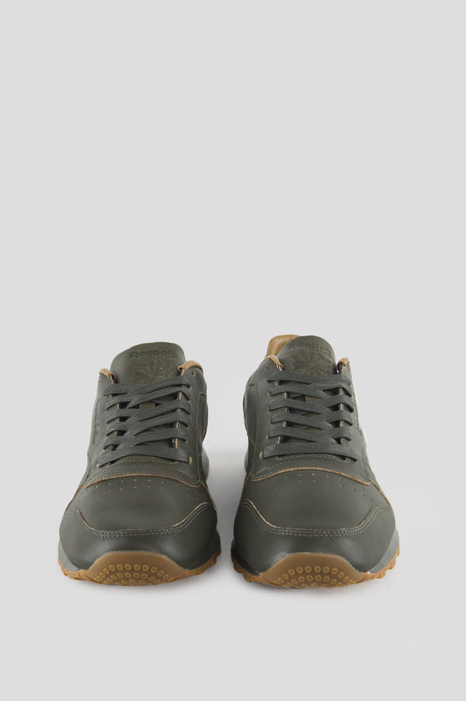 d48d485b76ebb REEBOK X KENDRICK LAMAR CL LEATHER LUX OLIVE NIGHT GUM – BLENDS