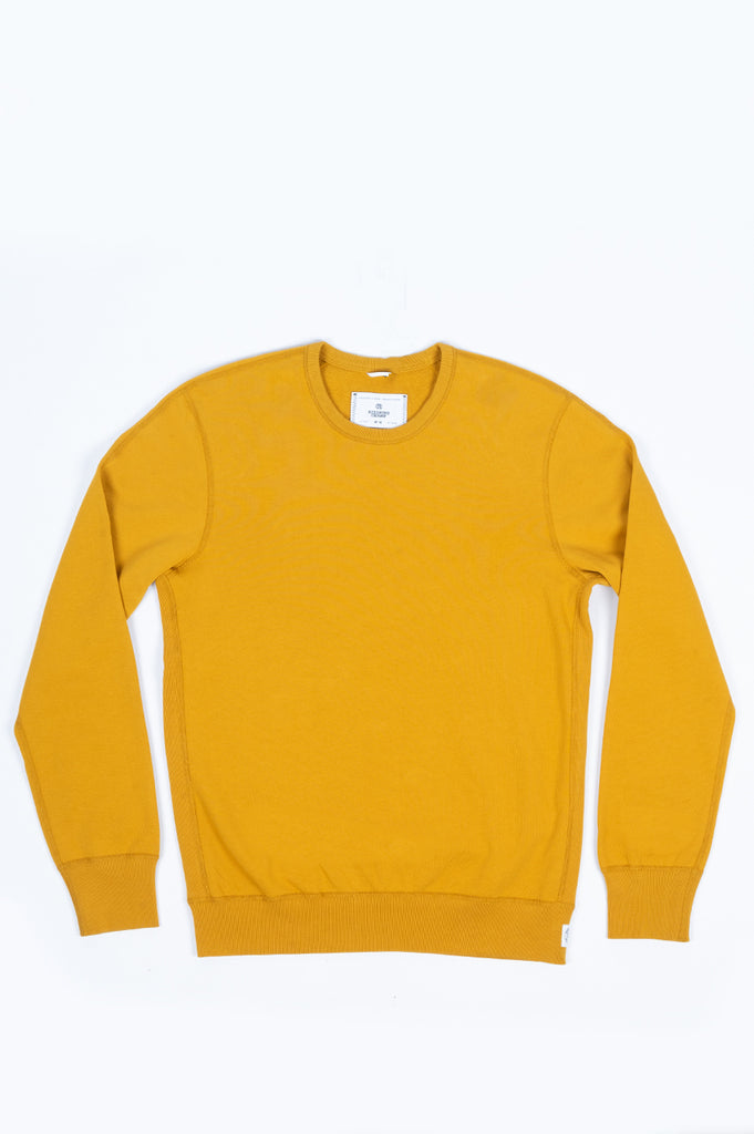 REIGNING CHAMP KNIT LIGHTWEIGHT TERRY CREWNECK MEDALLION