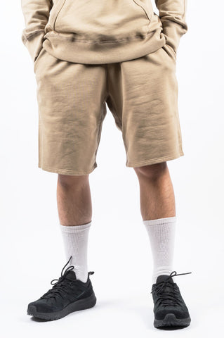 REIGNING CHAMP SWEATSHORT KHAKI - BLENDS
