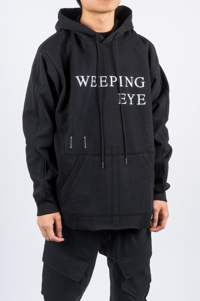 REIGNING CHAMP X JIDE OSIFESO HEAVY WEIGHT TERRY KNIT HOODIE BLACK - BLENDS