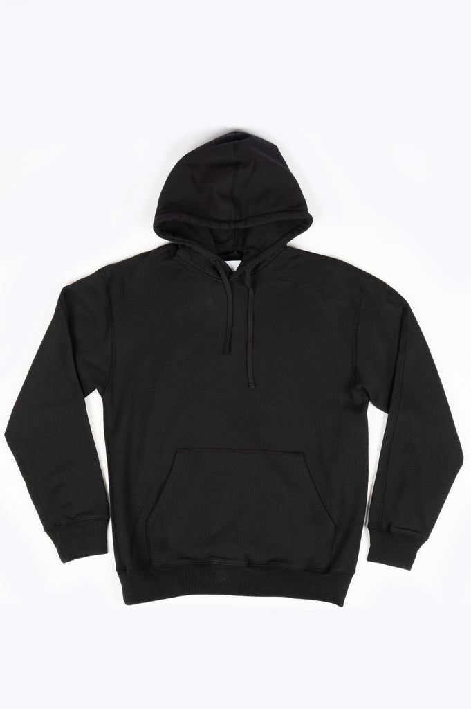 REIGNING CHAMP KNIT MID WT TERRY RELAXED FIT PULLOVER HOODIE BLACK
