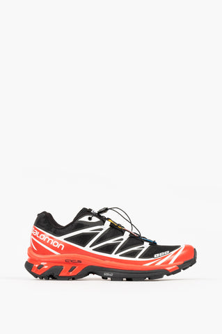 SALOMON XT-6 ADVANCED BLACK RACING RED