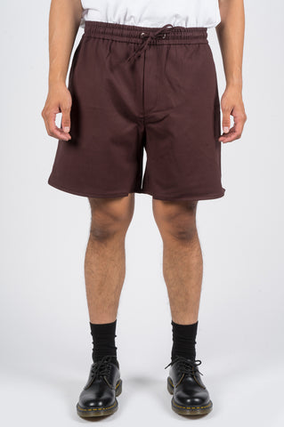 SECOND LAYER BOXER SHORT BURGUNDY