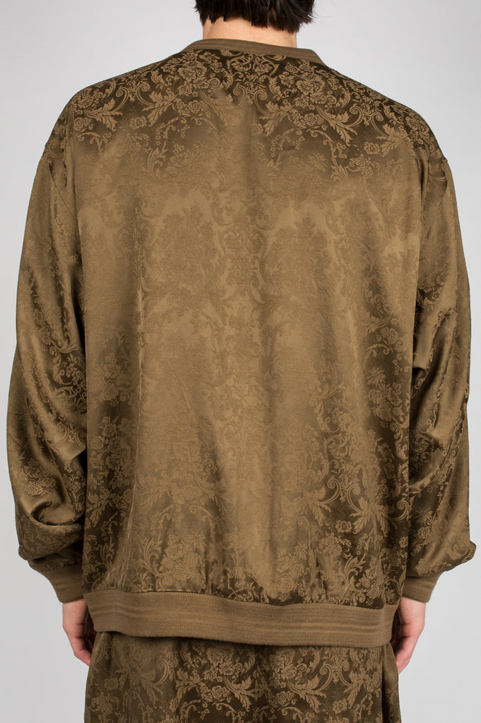SECOND LAYER OVER SIZED BOMBER JACKET DARK GOLD