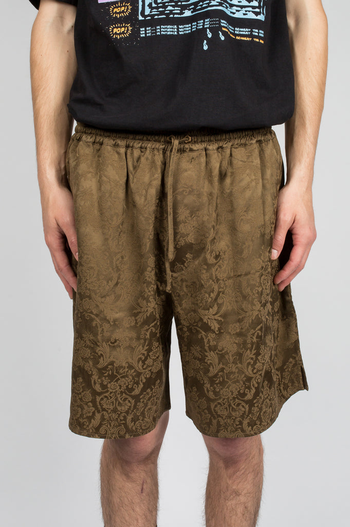 SECOND LAYER BOXER SHORT DARK GOLD