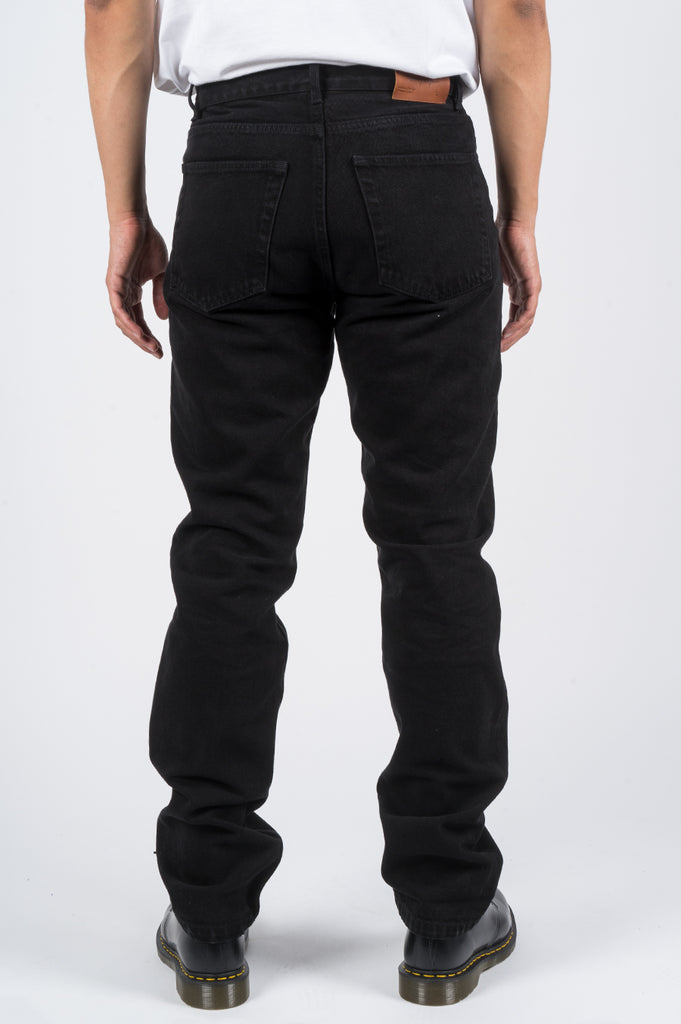 SECOND LAYER CLASSIC TYPE 1 DENIM PANT BLACK STONE WASH - BLENDS