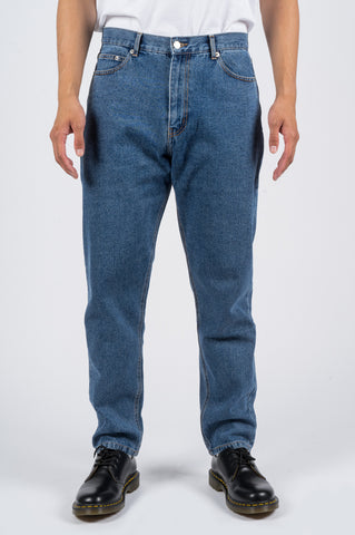 SECOND LAYER TAPERED DENIM TYPE 11 LIGHT STONE WASH