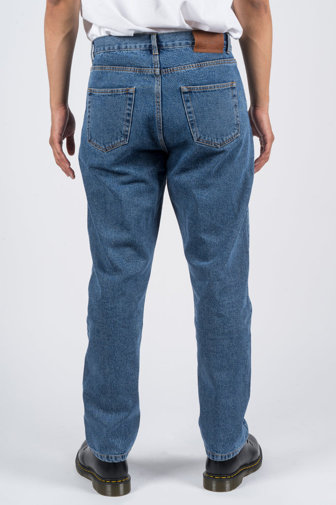 SECOND LAYER TAPERED DENIM TYPE 11 LIGHT STONE WASH - BLENDS