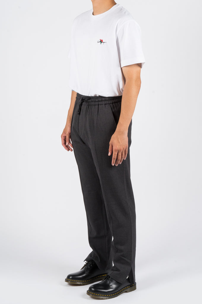 SECOND LAYER OPEN VENT TRACK PANT GREY