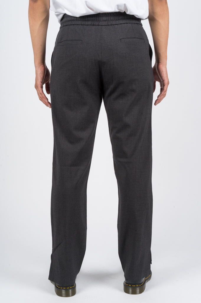 SECOND LAYER OPEN VENT TRACK PANT GREY - BLENDS