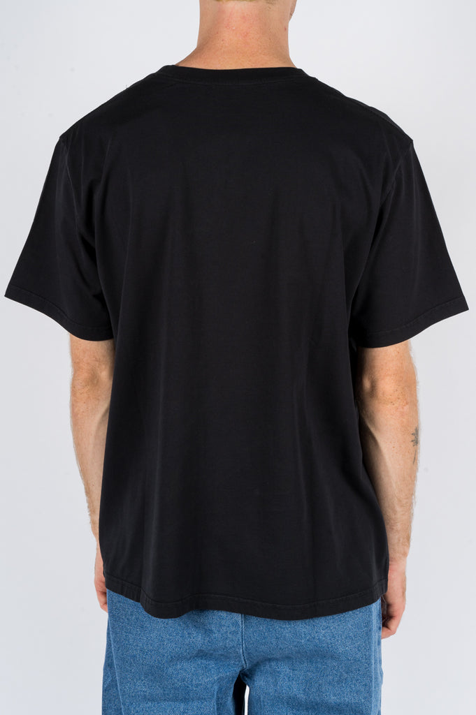 SECOND LAYER WHISPERS IN THE NIGHT TSHIRT BLACK