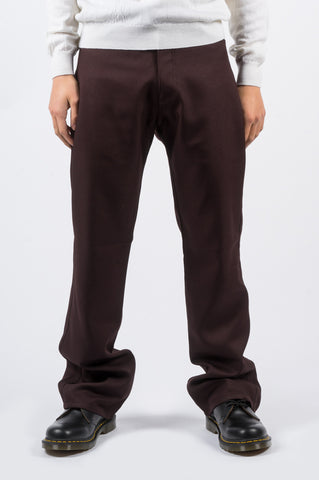 SECOND LAYER BOOT CUT PANT BORDEAUX - BLENDS