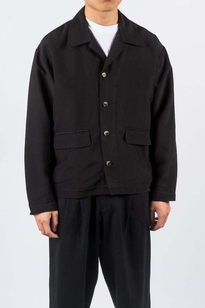SECOND LAYER CALO SHIRT/JACKET BLACK - BLENDS