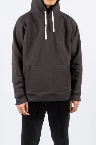 SECOND LAYER CLASSIC RAGLAN HOODIE ESPRESSO - BLENDS