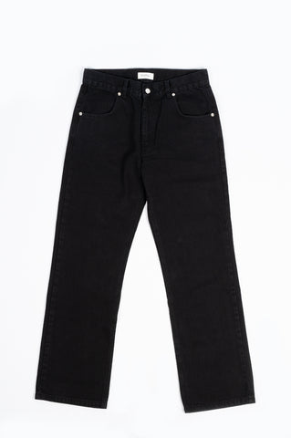 SECOND LAYER TYPE VI RICO PANT WASHED BLACK
