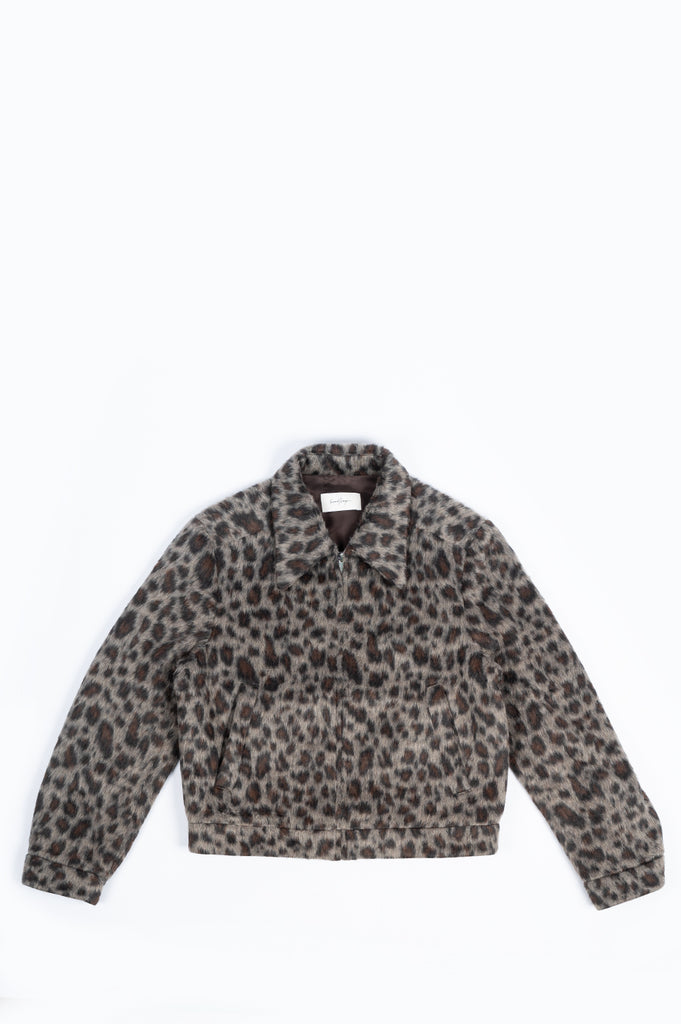 SECOND LAYER FILERO JACKET LEOPARD