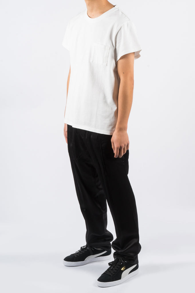 SECOND LAYER PADOVANE POCKET TSHIRT MILK - BLENDS