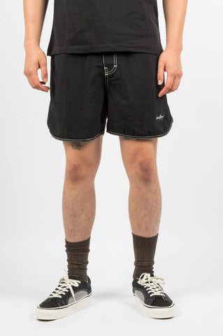 SECOND LAYER SURF TRUNK BLACK