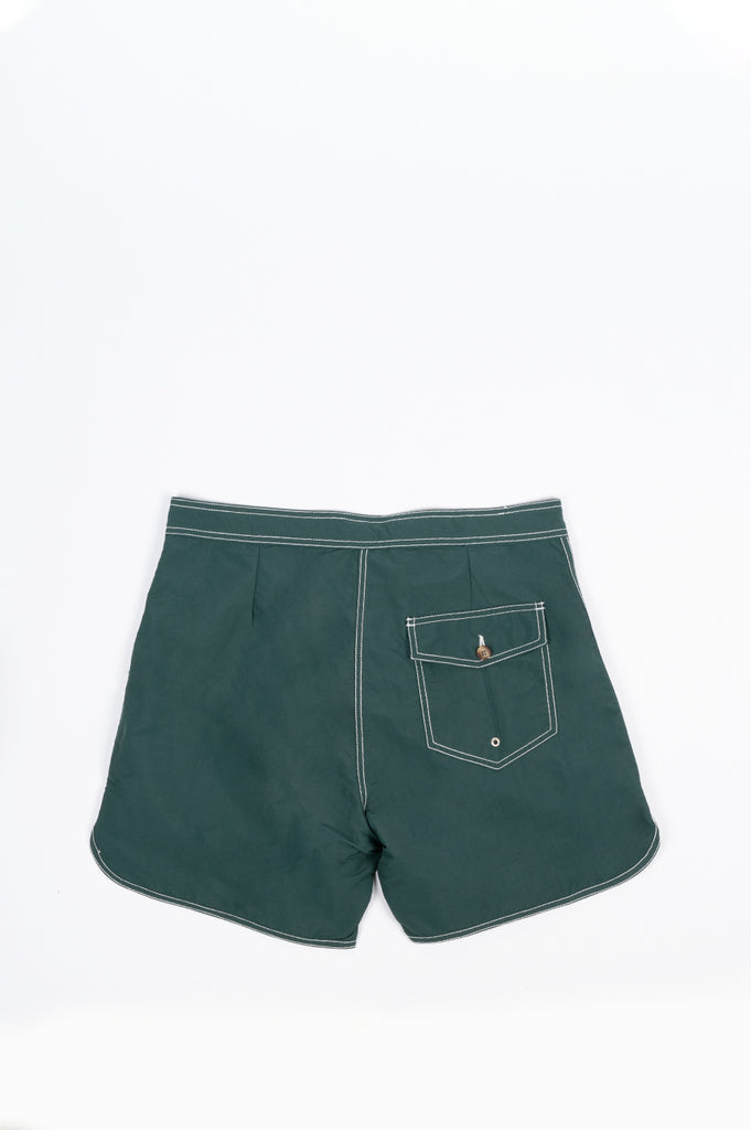 SECOND LAYER SURF TRUNK VIRIDIAN GREEN