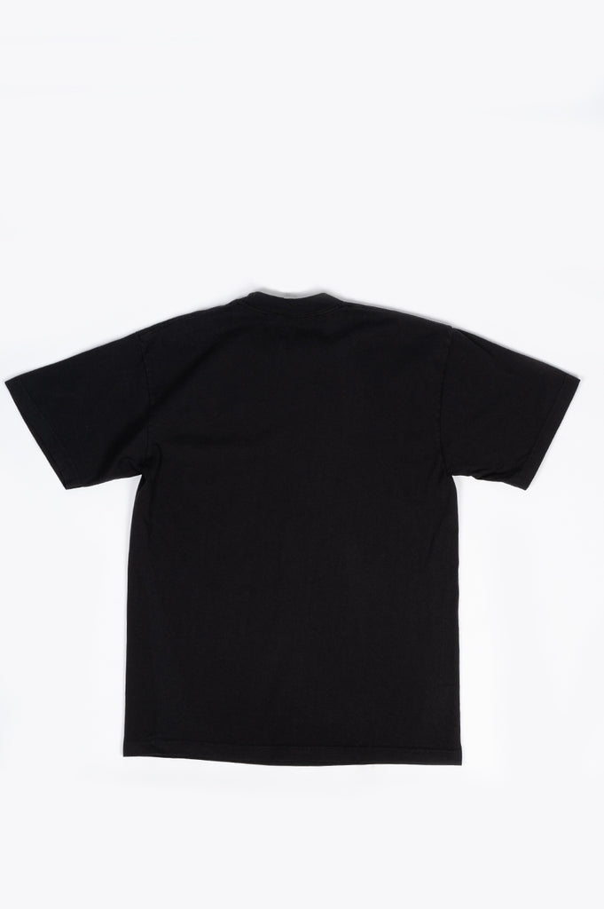 SPORTY AND RICH LIVE LONGER T-SHIRT BLACK WHITE