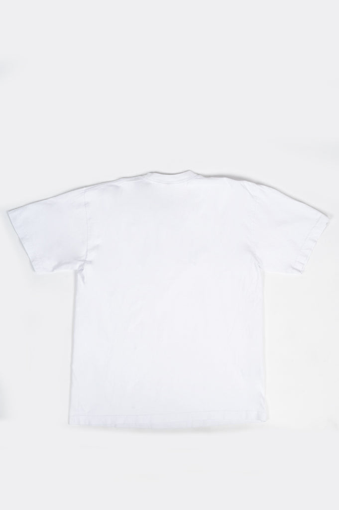 SPORTY AND RICH SRCNY T-SHIRT WHITE NAVY