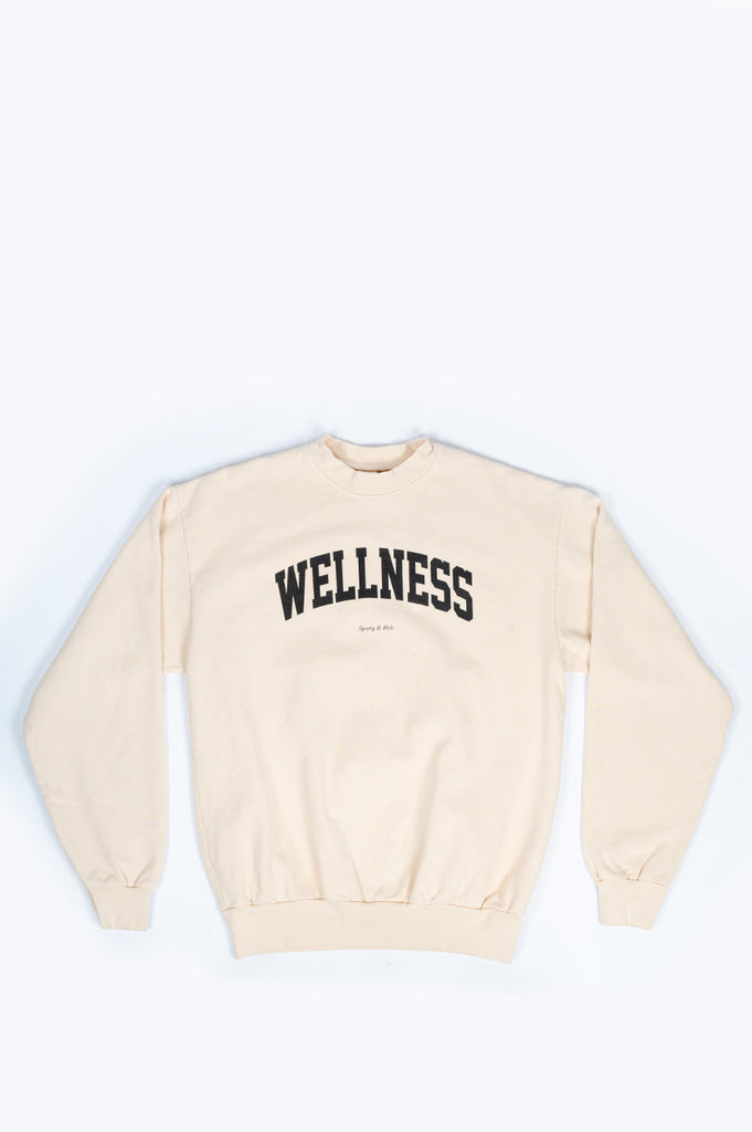 SPORTY AND RICH WELLNESS CREWNECK IVY