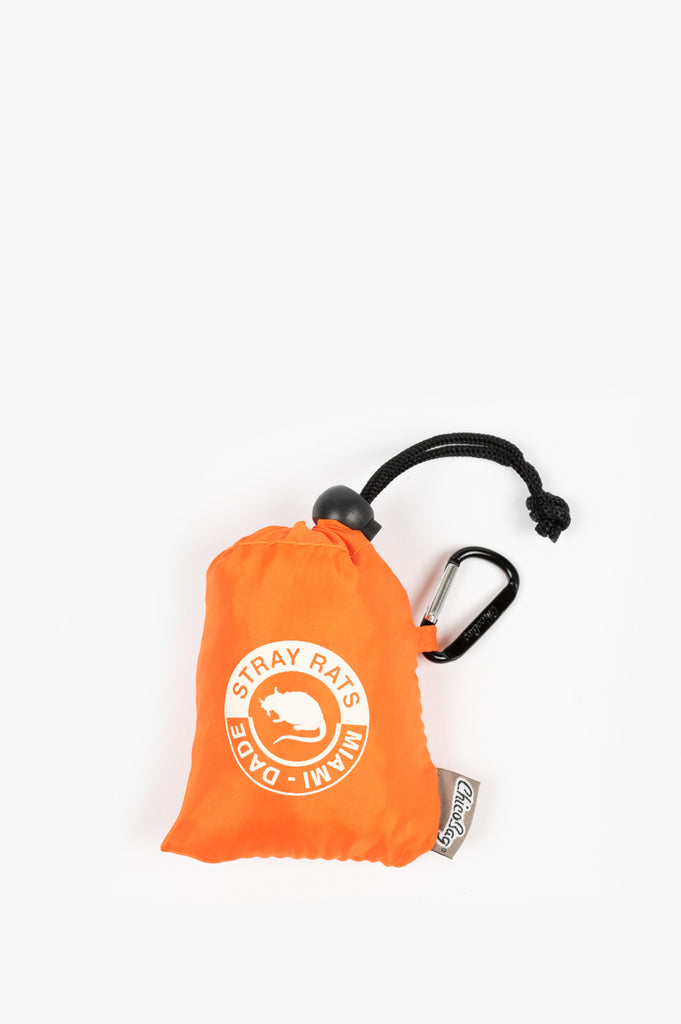 STRAY RATS RAT LOGO CHICOBAG ORANGE
