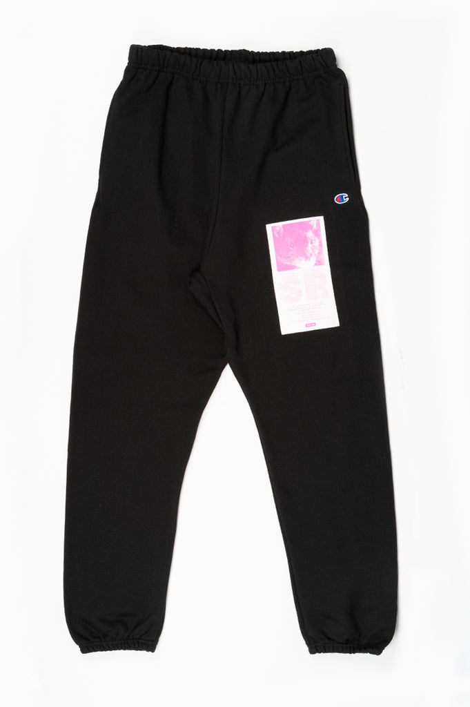 STRAY RATS FRIEND SWEATPANTS BLACK