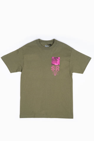 STRAY RATS FRIEND TEE OLIVE