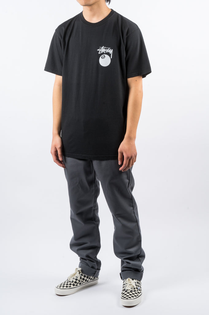 STUSSY 8 BALL TEE BLACK - BLENDS