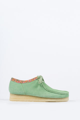 CLARKS X STUSSY WALLABEE GREEN