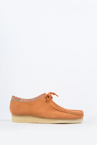 CLARKS X STUSSY WALLABEE RUST