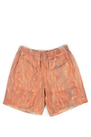 STUSSY DYED EASY SHORT RUST
