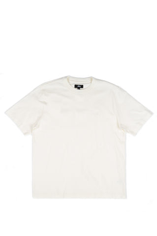 STUSSY STOCK LOGO SS CREW NATURAL