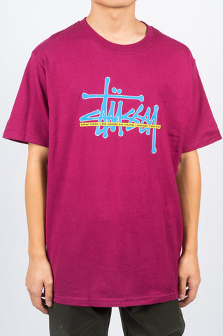 STUSSY INTERNATIONAL TEE WINE - BLENDS
