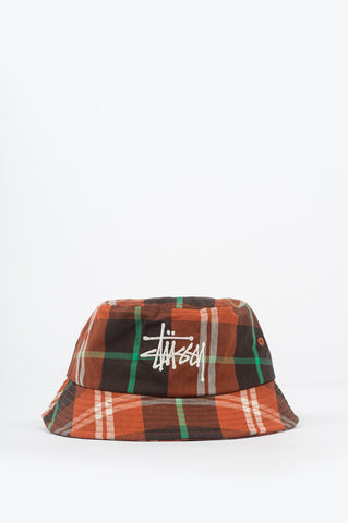 BIG LOGO MADRA BUCKET HAT ORANGE
