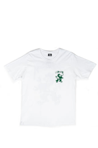 STUSSY REGAL TEE WHITE