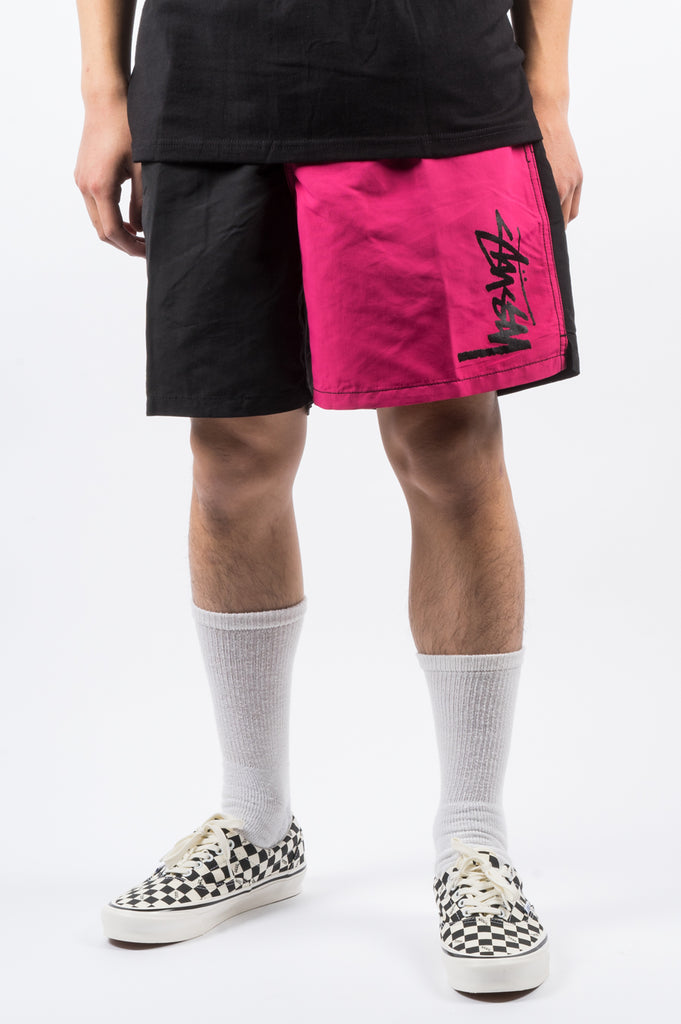 STUSSY PANEL WATER SHORT BLACK - BLENDS