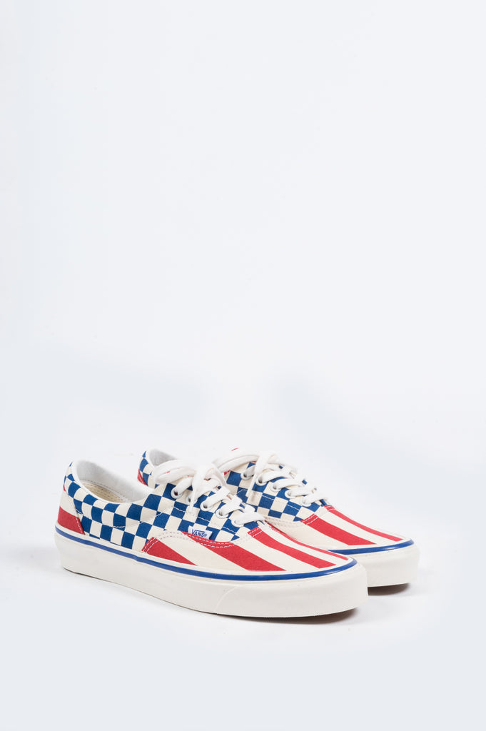 VANS ERA 95 DX ANAHEIM FACTORY OG RED STRIPES - BLENDS